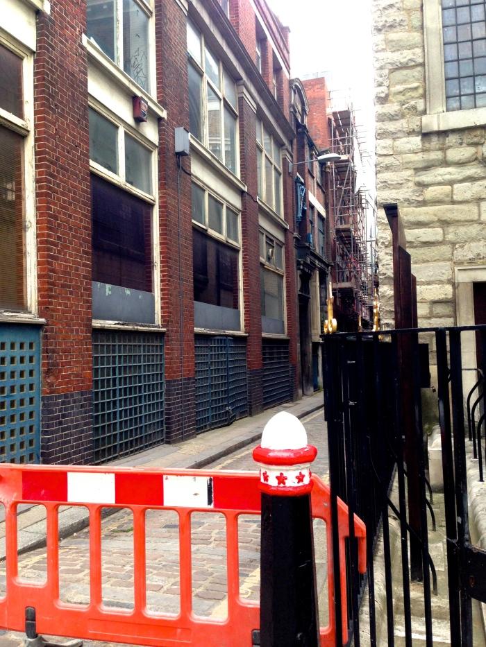 Skinner's Lane, the City of London